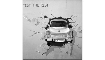 Trabbi - test the rest - black and white
